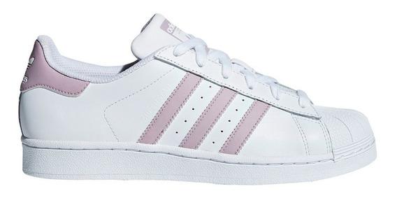 Zapatillas adidas Originals Superstar Bla/ros De Mujer