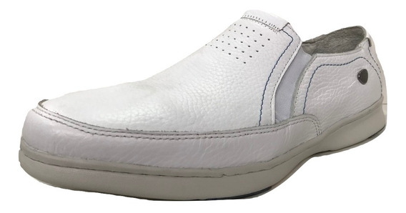 Zapato Cavatini 76-6841- Mocasin Picado Flor Blanco