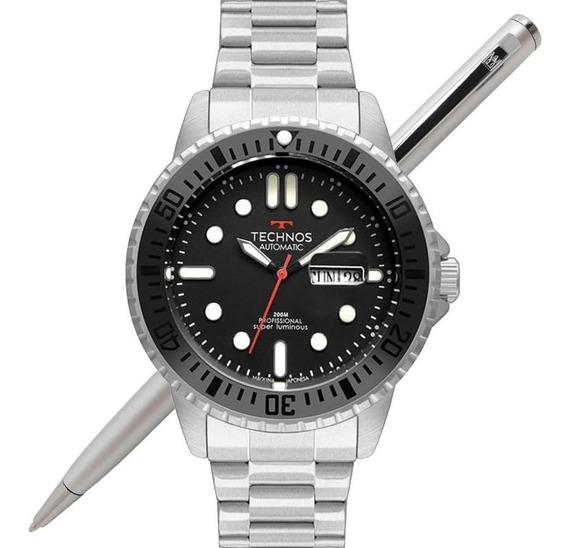 Relógio Technos Masculino Classic Automático 8205oj/1p - Nfe