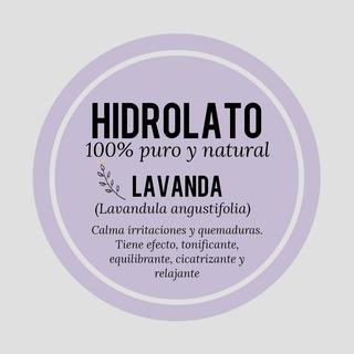 Hidrolato De Lavanda 100% Puro Y Natural X 100 Ml