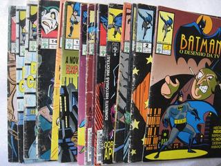 14 Revistas Hq Usadas - Batman O Desenho Da Tv