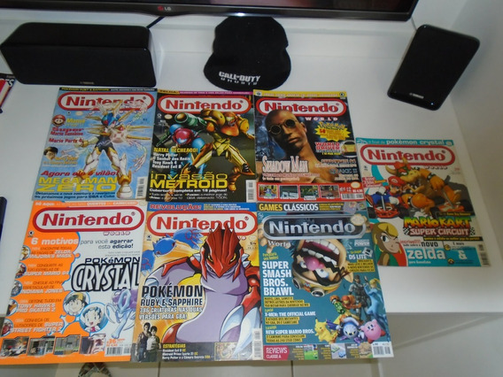 Lote Com 7 Revistas Nintendo World