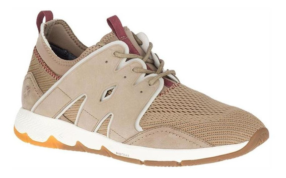 Zapatos Hombre Hush Puppies Ts Field Jogger Taupe Urban