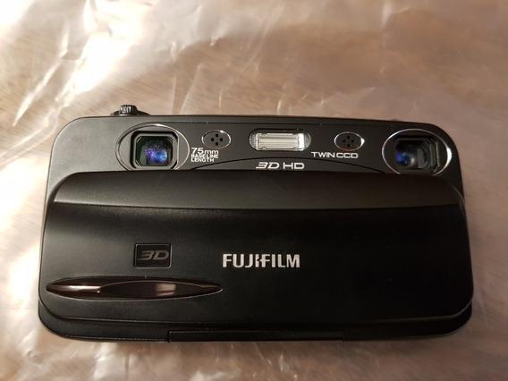 Câmera Digital Fujifilm W3 Finepix Real 3d - Brinde Sd 32gb