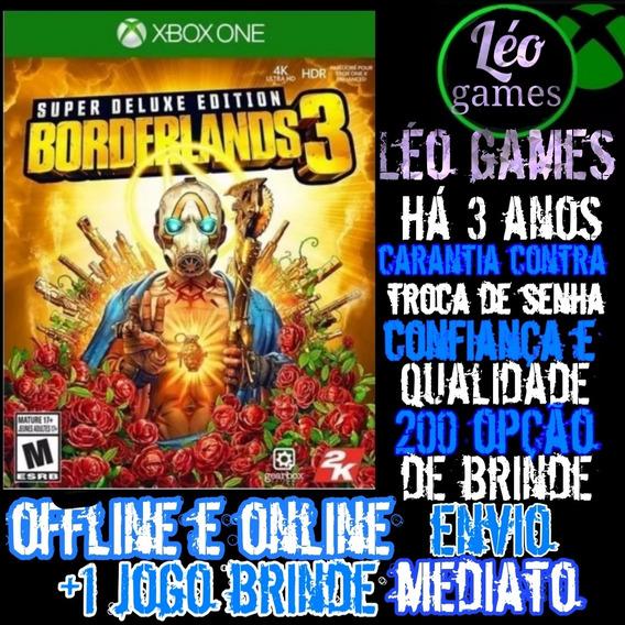 Borderlands 3 Edição Deluxe Mídia Digital Xbox One + 1 Brind