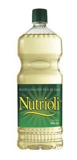 Nutrioli Aceite De Soya Botella 946 Ml