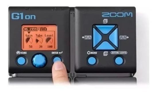 Pedaleira G1on Zoom Multi-efeitos P/ Guitarra G1 On / G1-on