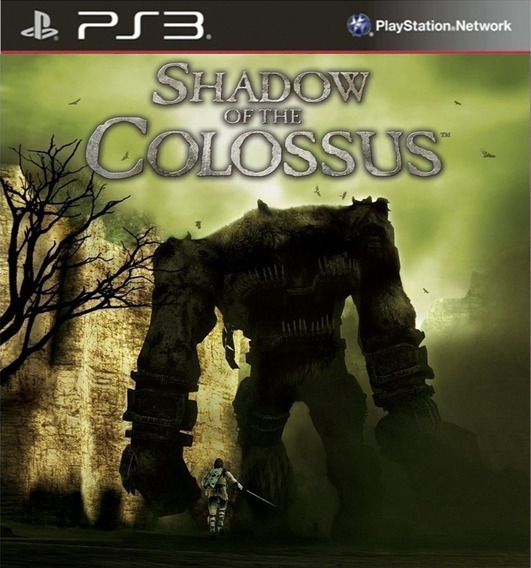 Shadow Of The Colossus Em Hd - Jogos Ps3 Playstation 3