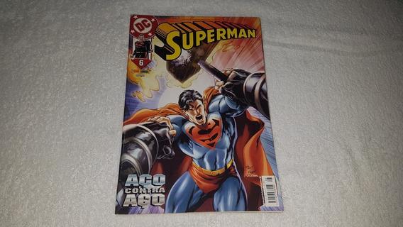 Hq Superman Nº 6 (1ª Série) - Ed. Panini - 2003 - F. Álbum