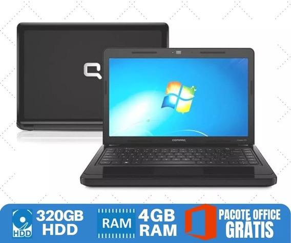 Notebook Hp Core I5 Hd320 4gb Win7 O Menor Preço