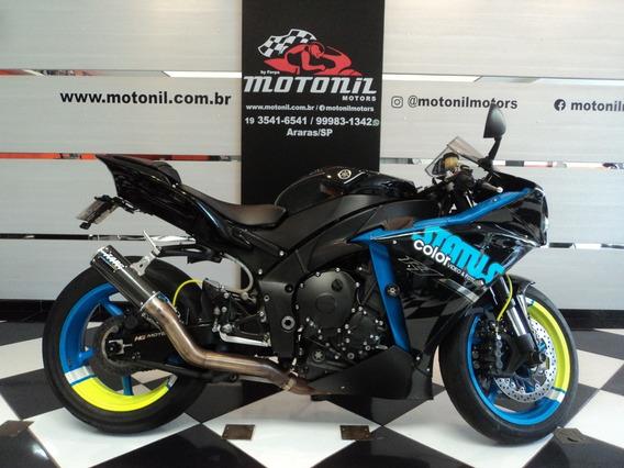 Yamaha Yzf R1 Preta 2013