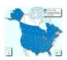 Ultimos Mapas De Eeuu Canada Mexico Norte America + Memo 8gb
