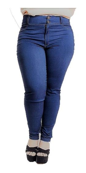 Pantalón Jeans De Dama Elastizado Talle Especial De Vestir