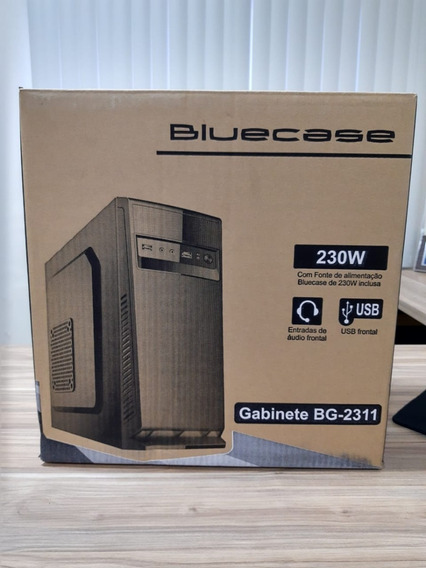 Computador Bluecase Core 2 Duo E8400 3.00ghz 4gb Ddr3 750gb