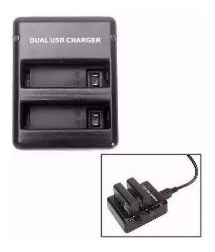Gopro Carregador Duplo Bateria Camera Gopro Go Pro Hero 4 4+