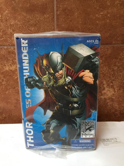 Thor Marvel Exclusive Comic Con 2010 Startoys Morelia