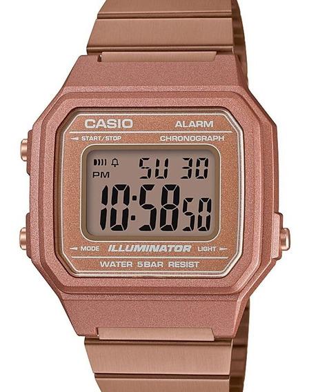 Relógio Casio Feminino Vintage Rose Gold B650wc-5adf-br