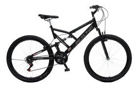 Bicicleta Dupla Suspensao Aro 26 Colli Preto