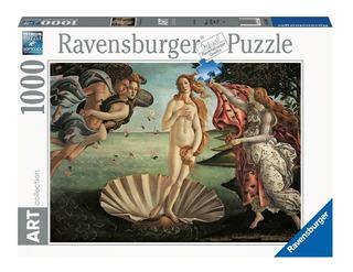 Puzzle 1000nacimiento De Venus Boticelli-ravensburger 157693