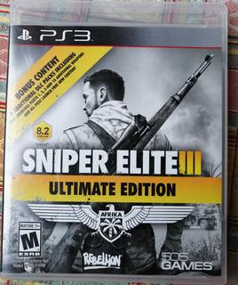 Sniper Elite Iii Ultimate Edition. Juego Ps3 .
