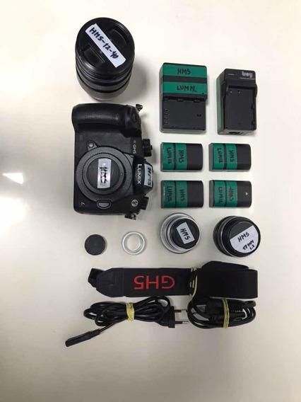 Lumix Gh5 + 12-40mm + 17mm + 35mm