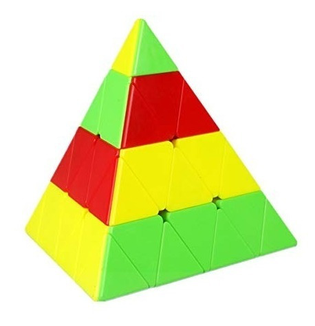 Imagem 1 de 5 de Qiyi Master Pyraminx 4x4x4 Colorido Piramide Mágica Puzzle