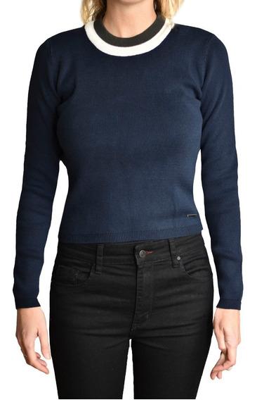 Sweater Pullover Mujer Brooksfield Moda Tejido Elegante D5