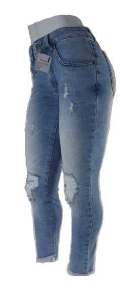 Calça Jeans Feminina Zoomp Rasgada-uni000647-universizeplus