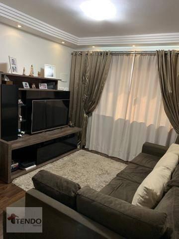 Imagem 1 de 9 de Sobrado Com 3 Dormitórios À Venda, 125 M² Por R$ 489.000,00 - Vila Bela Vista - Santo André/sp - So0308