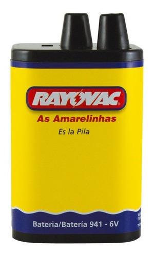 Kit 3 Pilhas Rayovac Bateria 6v Atc 708