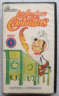 Las Aventuras De Cantinflas. Serie Animada Beta Diamex 1990