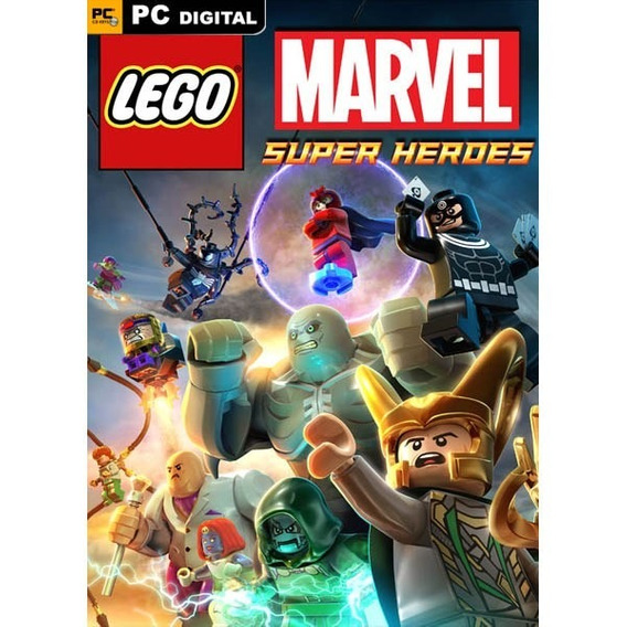 Lego Marvel Superheroes Steam Key Pc 100% Original