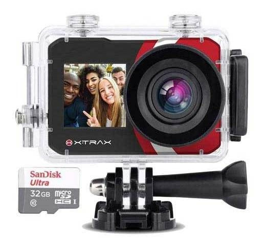 Câmera Digital Xtrax Selfie 16 Mp 1.3 Traseira 2.0 4k 801020