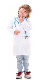Bata Infantil De Laboratorio Medico