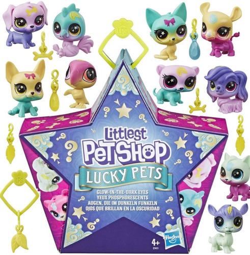 Littlest Petshop Lucky Pets Mascotas Ojos Que Brillan Hasbro