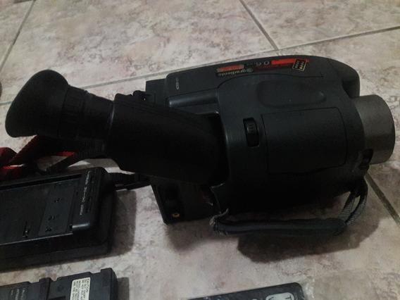 Filmadora Gradiente Gcp-165 Cr No Estado Leia Descrição