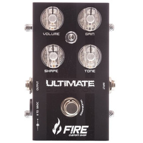Pedal Fire Ultimate Distortion Modelo Novo + Frete Gratis
