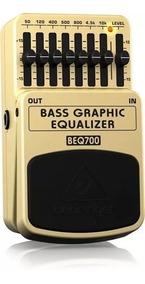 Pedal Baixo Beq-700 Behringer Equalizador Grafic Beq700novo