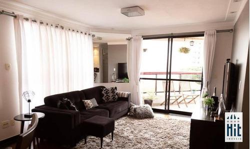 Apartamento À Venda, 127 M² Por R$ 799.000,00 - Bosque Da Saúde - São Paulo/sp - Ap3862