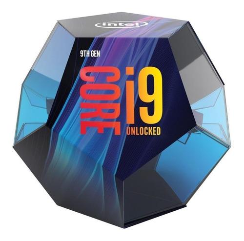 Imagem 1 de 2 de Processador Gamer Intel Core I9-9900k De 8 Núcleos E 3.6ghz