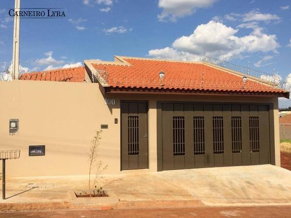 Casa Com 2 Dormitórios Para Alugar, 150 M² Por R$ 1.400,00/mês - Jardim Suzana Ferraz - Jaú/sp - Ca0479