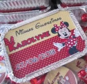 Kit Marmitinhas Personalizadas - Minnie