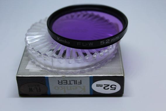 Filtro Kenko Fl-w 52mm Original Made In Japan Promoção