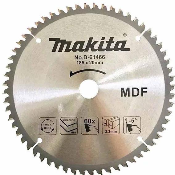 Disco De Serra Circular Widia P/mdf 185x20x60d Makita D61466