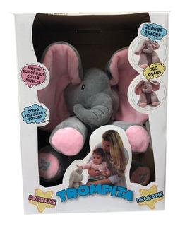 Elefante Trompita Peluche Musical Original Next Point Manias