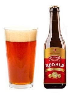 Pack X12 Cerveza Sin Gluten Straus X 335ml Red Ale Sin Tacc