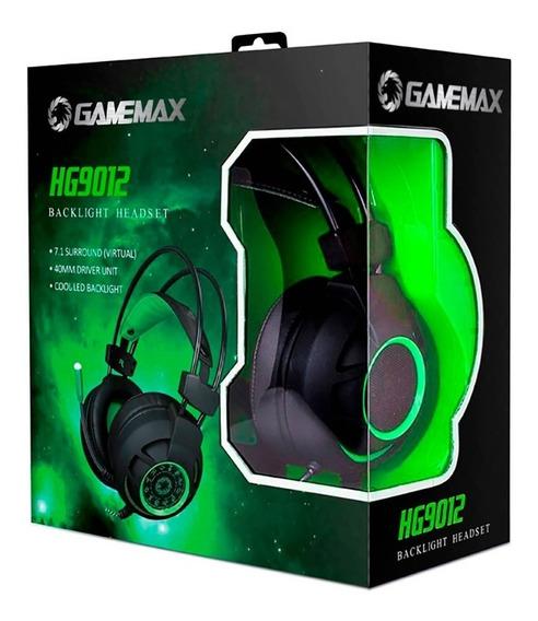 Fone Headset Gamer Gamemax Hg9012