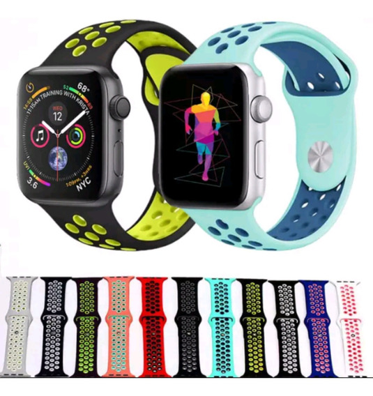 Pulseira Apple Watch Nike Sport 38/40 - Cores Masculina