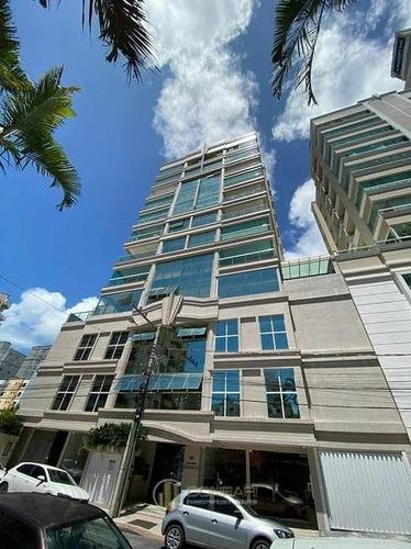 Apartamento Novo 3 Suítes E 2 Vagas Na Meia Praia! - Ap1092-1