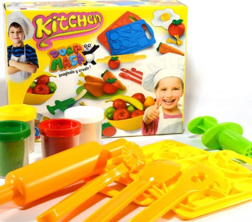 Juego De Masa Duravit Kitchen Art 729 Con Moldes Extrusor